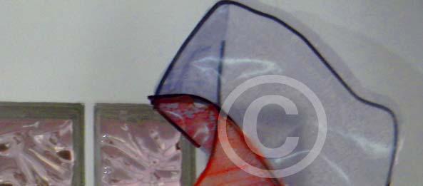 Bassorilievo in ferro e plastica